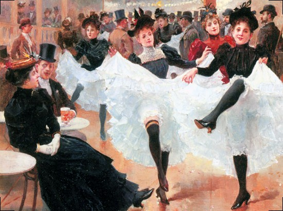 Jean Beraud - Le Cafe de Paris. Jean Beraud - Le Cafe de Paris
